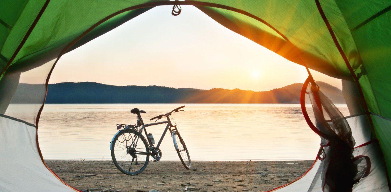 Cykelsemester och camping