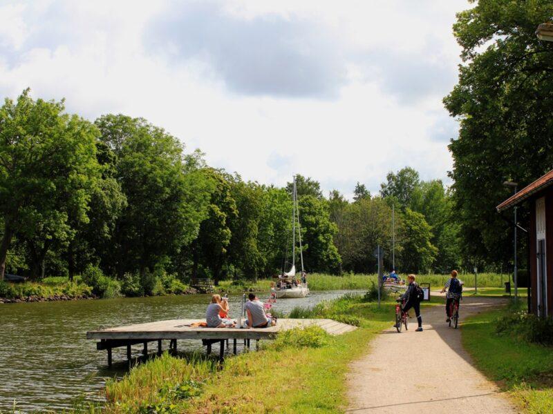 Familj cykelpaket Göta kanal