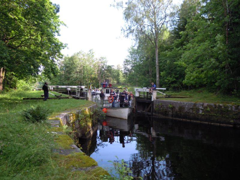 Slussning Strömsholms kanal2