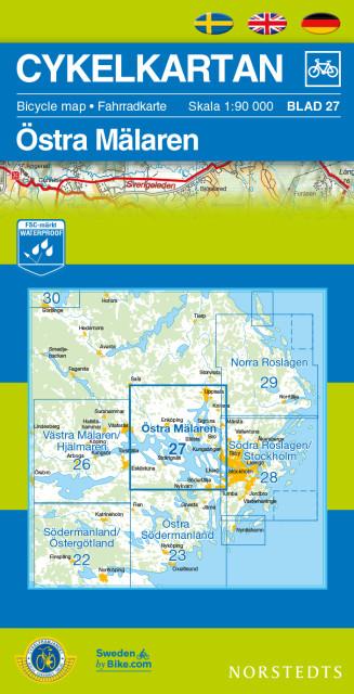 Cykelkartan blad 27 - Cykelkarta Östra Mälaren