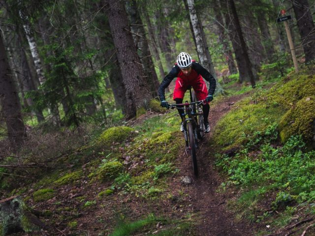 Mountain bike package in Högbo