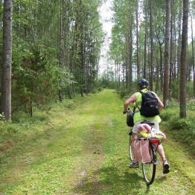 Pilgrimsleden Värmlandsnäs - cykelväg