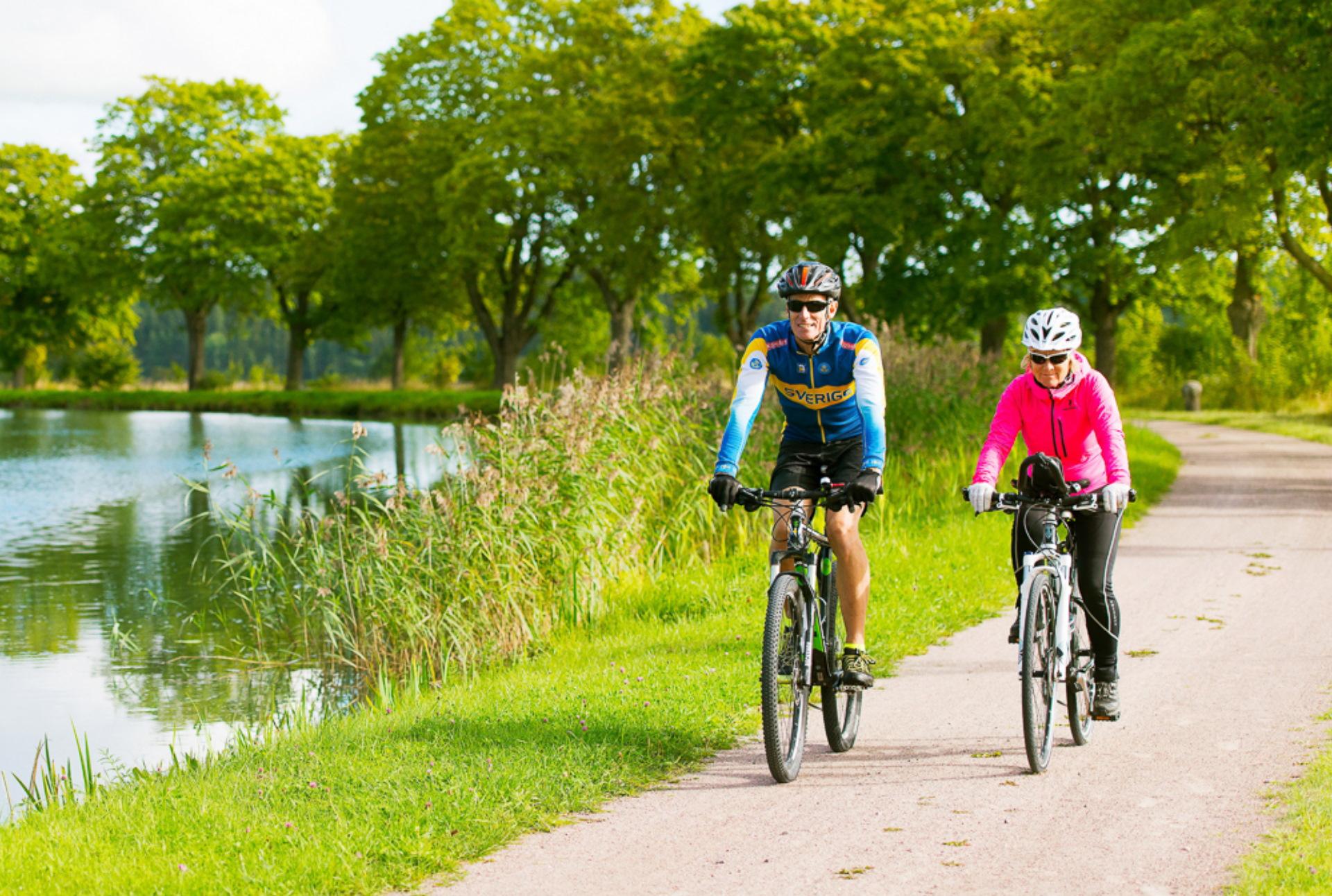 cykla 54 km längs Göta kanal2