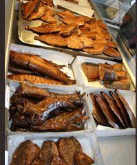 Funny fish shop