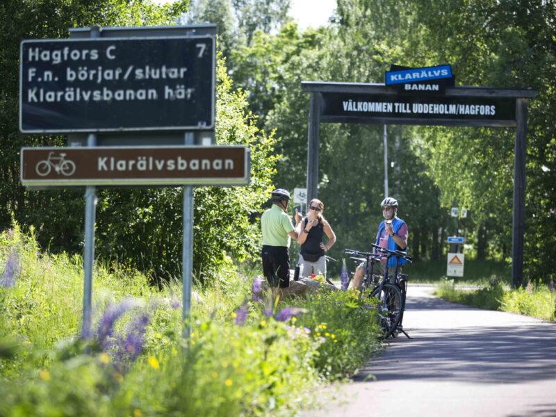 Cycle Klarälvsbanan_2