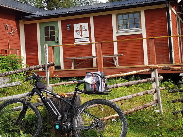 Cykla längs pilgrimsled St Olavsleden