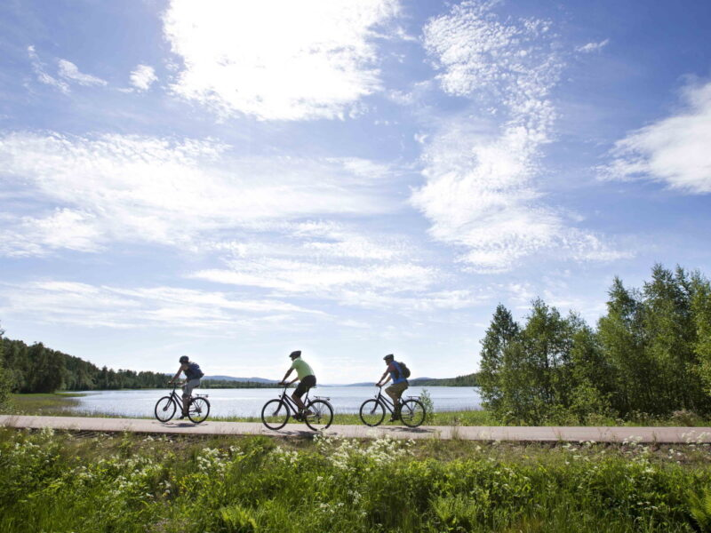 Klarälvsbanan med cykel_2