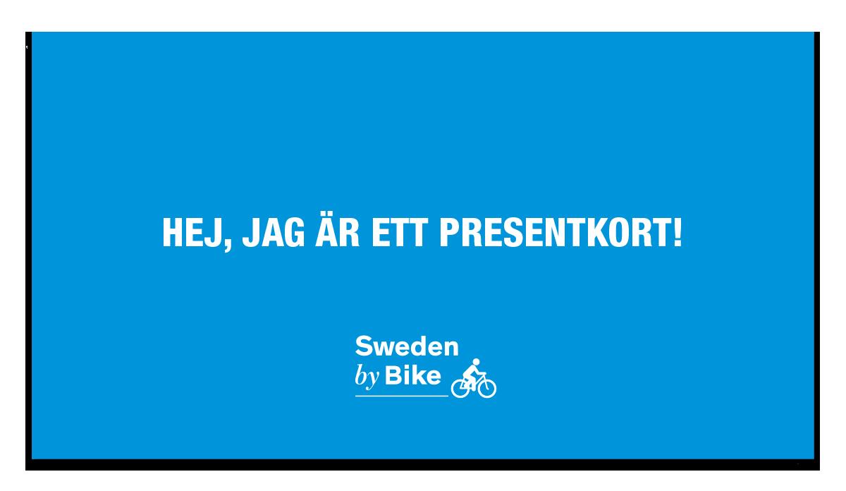 Presentkort cykelpaket
