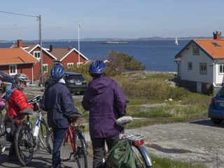 Ö-luffa & cykla på Öckeröarna