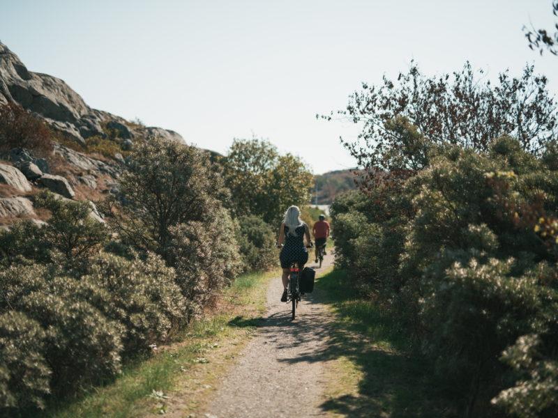 Cykla på Öckeröarna Västkusten Bohuslän2