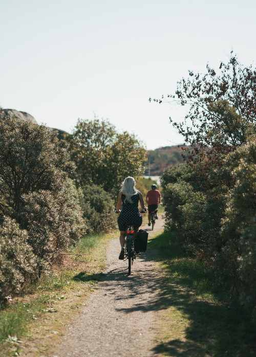 Cykla på västkusten