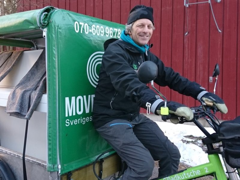 Movebybike, vinter, cykling, Umeå