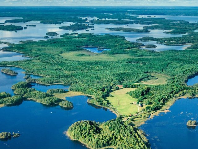 Åsnen Runt - nationalpark