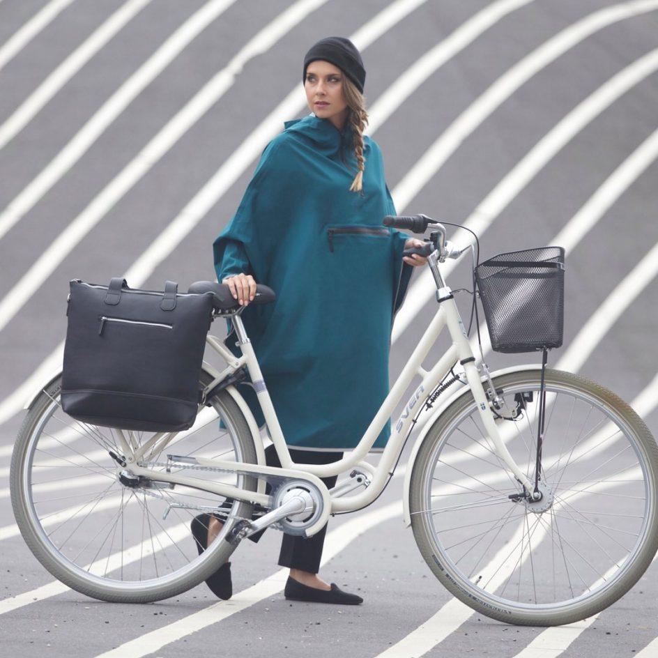 Imbris regnponcho cykel