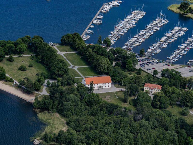 Sundbyholms Slott är ett cykelvänligt boende