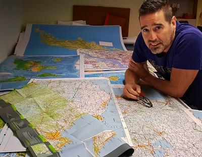 Pär Aspenberg bike map