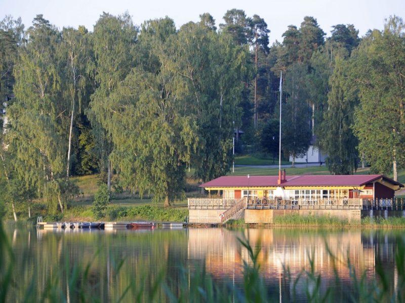 The sauna building-Bommersvik