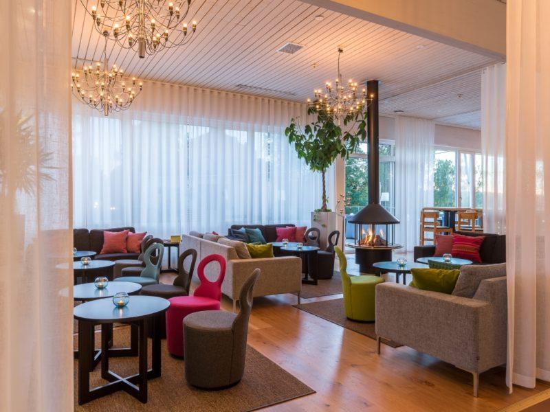 Bommersvik lounge-fire