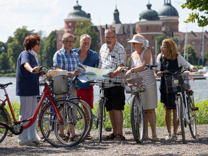 Cykla i Strängnäs och Mariefred