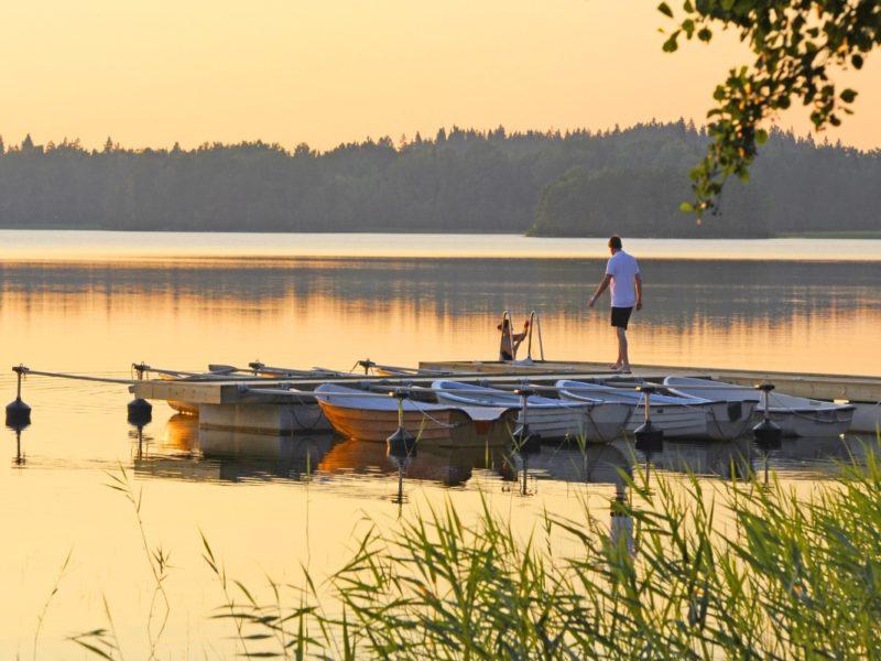 roddbåtar Bommersvik