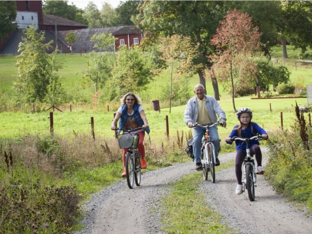 Cycle in Nora and Pershyttan
