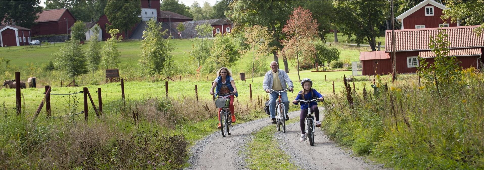 Cykla i Nora och Pershyttan
