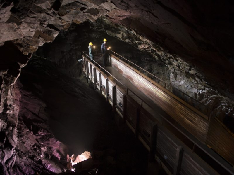 Spännande gruvmiljö i Pershyttan