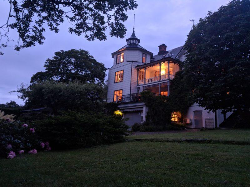 Engelsbergs pensionat exterior