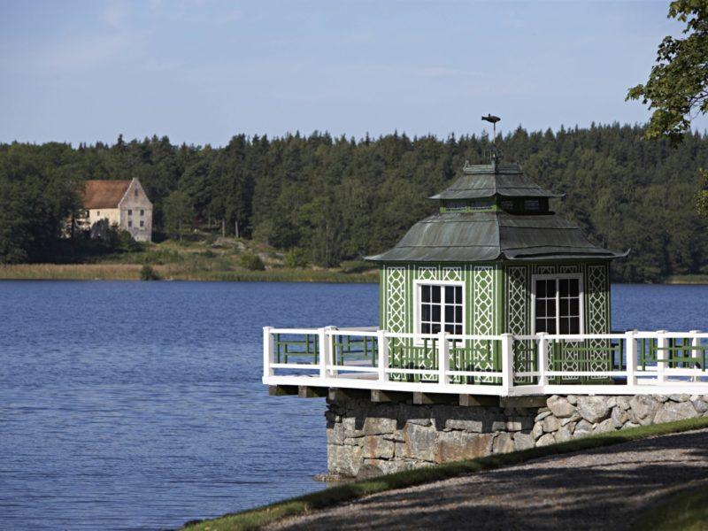 Snäckhuset Grönsöö slott