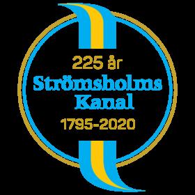 Strömsholm's channel_jubileum logo
