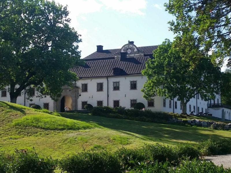 Tidö slott vid Mälaren cykeltur2