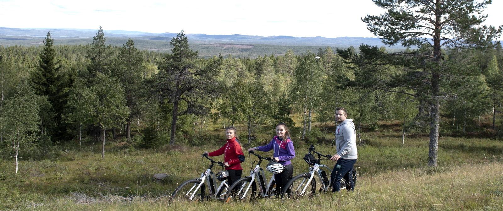 Cykla på toppen av Värmland_Långbergets Sporthotell