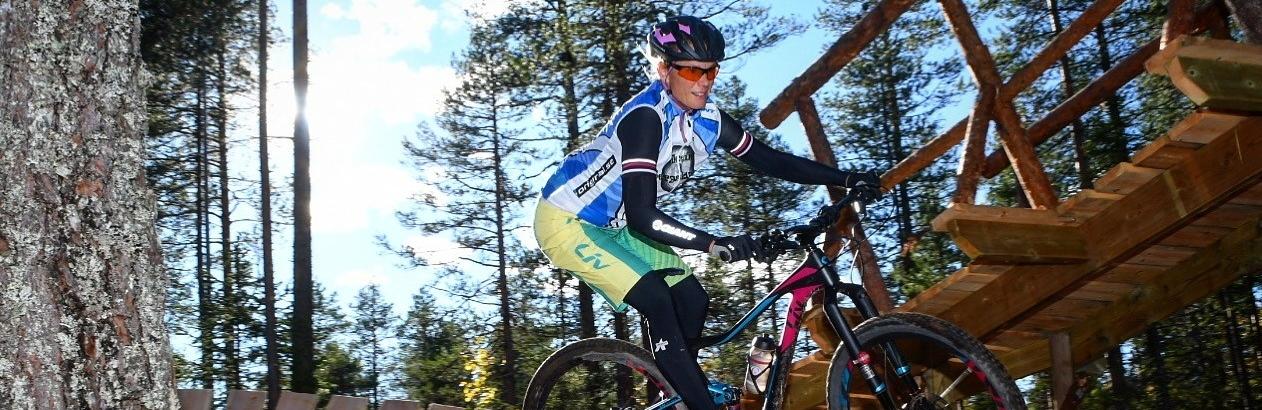 Katarina Rönnbacka Nybäck cykelguide