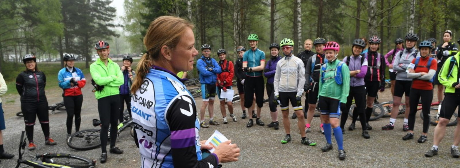Course Bicycle guiding in practice