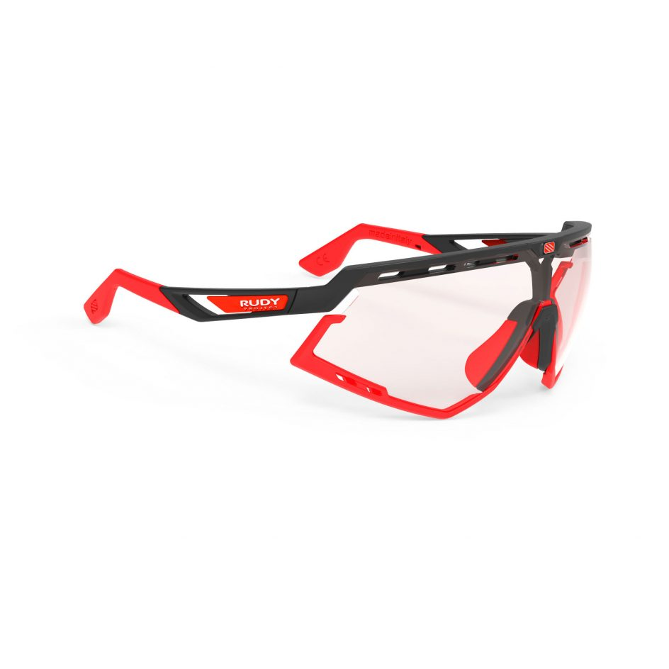 Rudy Project Defender ImpactX - Black Matte - ImpactX Photochromic 2 Red