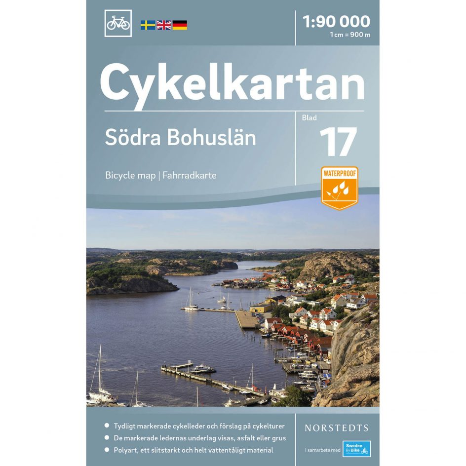 Bicycle map 17 Southern Bohuslän cover