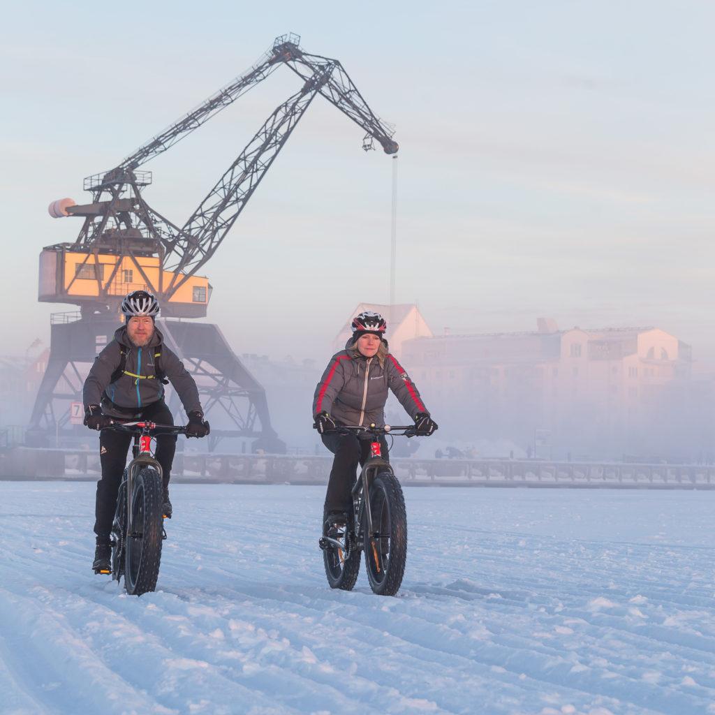 Cykla Fatbike på vintern_Peter Rydström