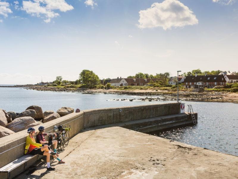 Det pittoreska fiskeläget Brantevik på Österlen. Foto: Apelöga