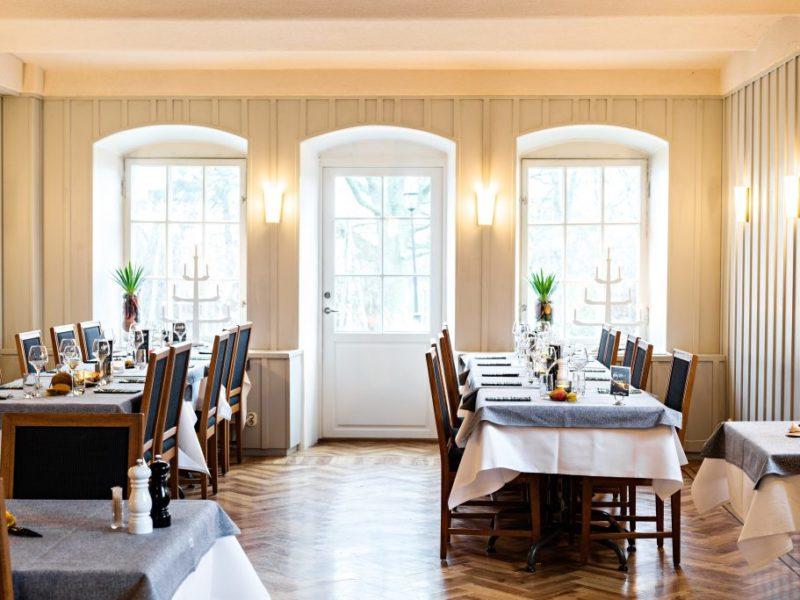 Small dining room at Rimforsa Strand