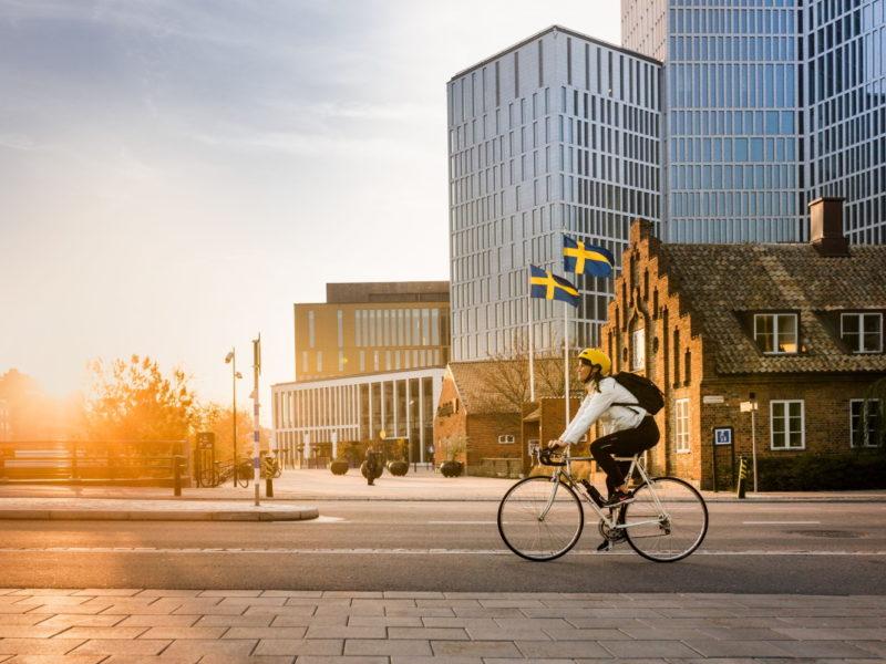 Malmö Live mellan Västra hamnen och Gamla Väster. Foto: Apelöga