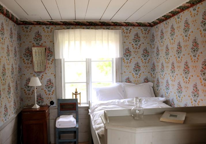 Ol-Er's Hälsingegård bedroom