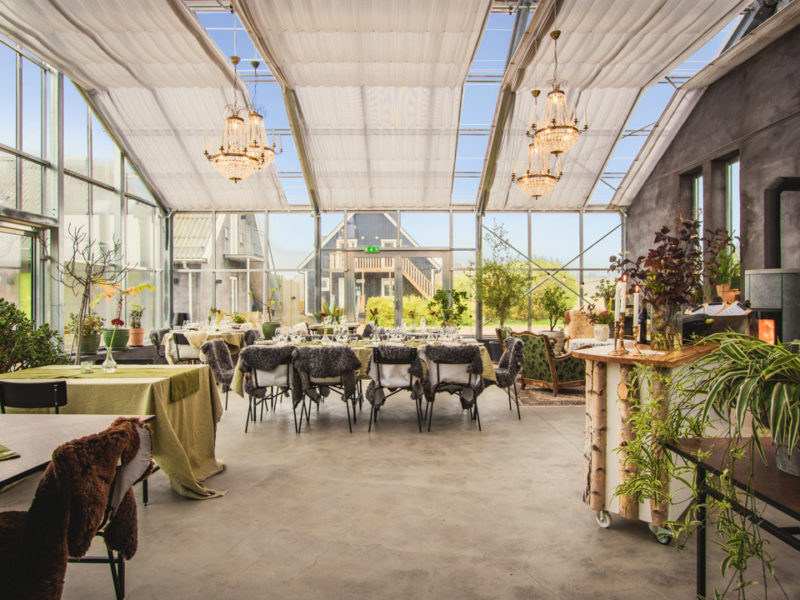 Cocoon Gårdshotell matsalen