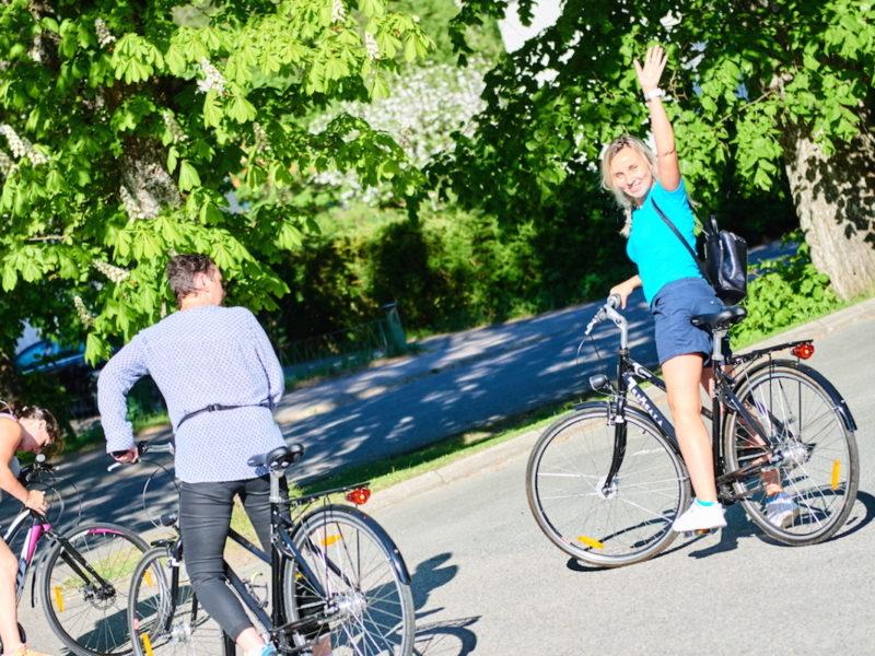 Cykelpaket Björkhaga Vättern