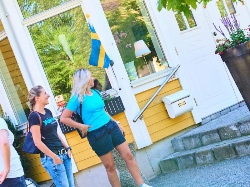 Hotell Björkhaga cykla i Skaraborg