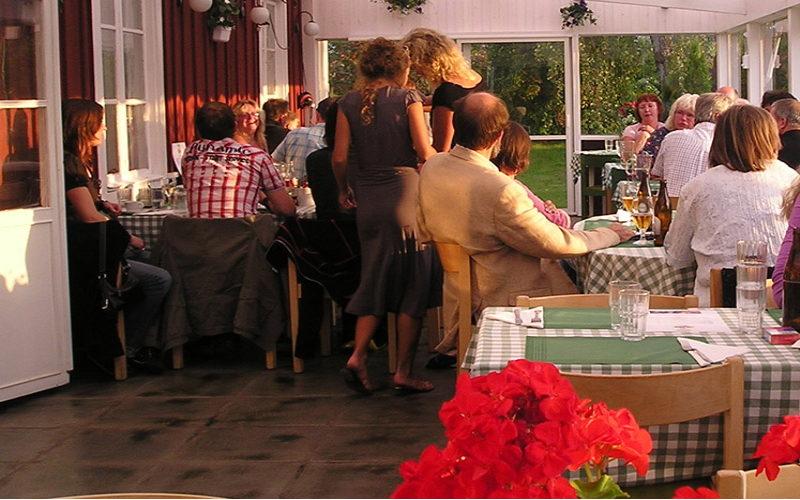Hotell Sommarhagen sommarveranda