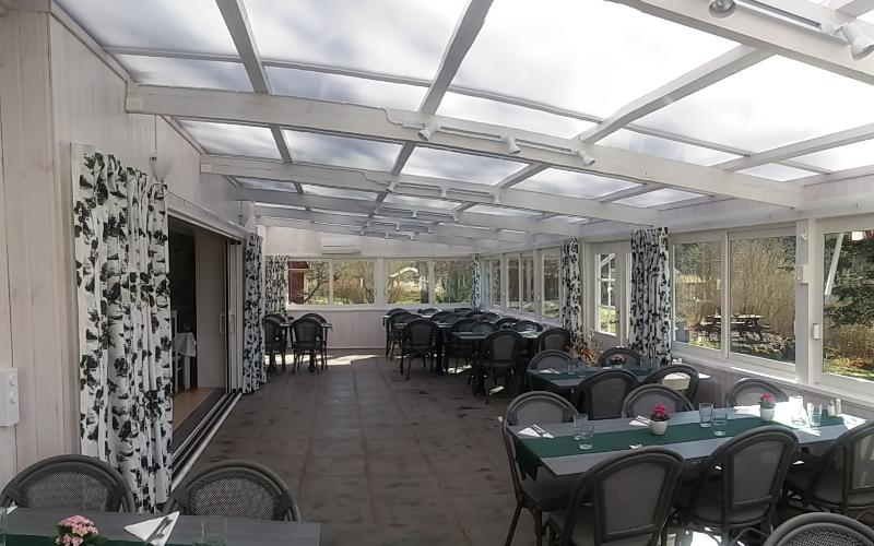 Nyrenoverad matsal_veranda_Hotell Sommarhagen