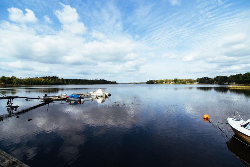 Lake Åsnen at Urshult Bed Breakfast
