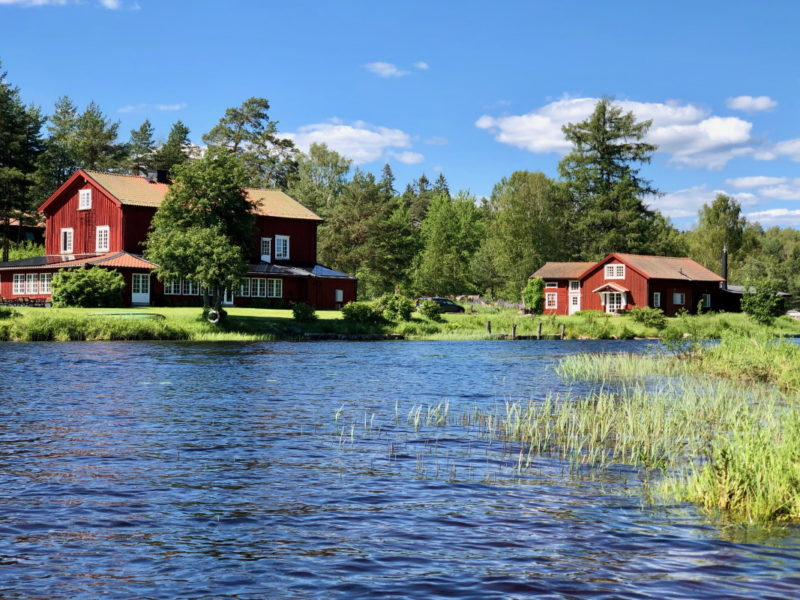 THE LODGE Torsby summer_lakeview