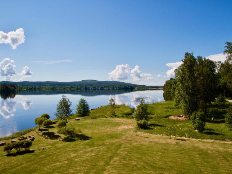 THE LODGE Torsby_lake view