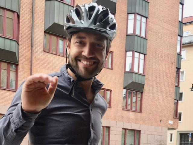 Ivan Glauser Sweden by Bike